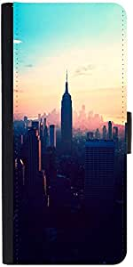 Snoogg New York New Yorkdesigner Protective Flip Case Cover For Samsung Galax...
