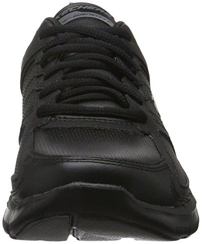 Skechers Flex Appeal 2.0Good Timing, Baskets Basses Femme Noir (Black/black)