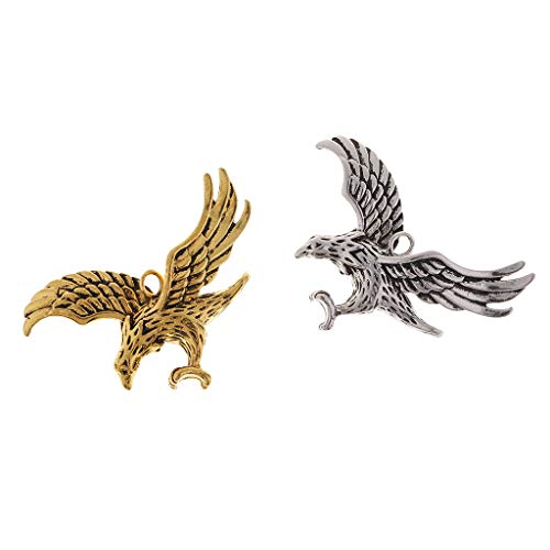 Baoblaze Modische Adler Anhänger Design Halskette Geschenke Schmuck Kunsthandwerk Dekorationen