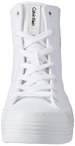 Calvin Klein Jeans Damen Zabrina Canvas High-Top Weiß (Wht)