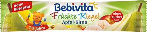 Bebivita - Früchte Riegel Apfel-Birne - 25g