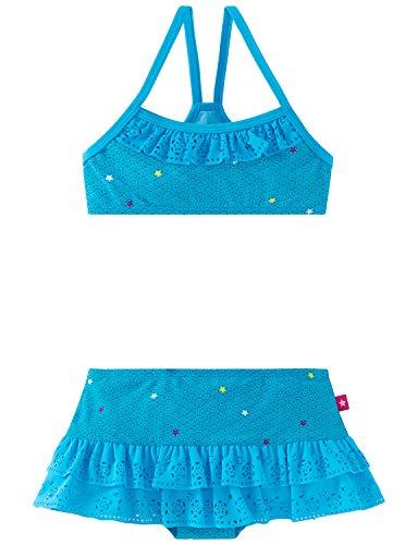 Schiesser Mädchen Bikini Aqua Prinzessin Lillifee Bustier, Blau (Petrol 811) 104