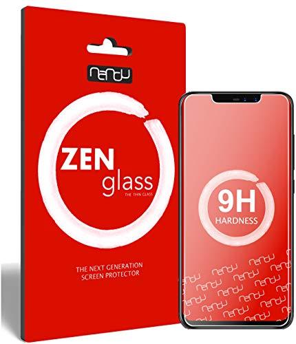 ZenGlass (2 Stück Flexible Glas-Folie für Umidigi Z2 Pro Panzerfolie I Bildschirm-Schutzfolie 9H I (Kleiner Als Das Gewölbte Bildschirm)