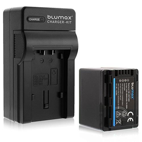 Blumax Premium Akku 4040mAh + 1x Ladegerät für Panasonic VW- VBT 380 E-K