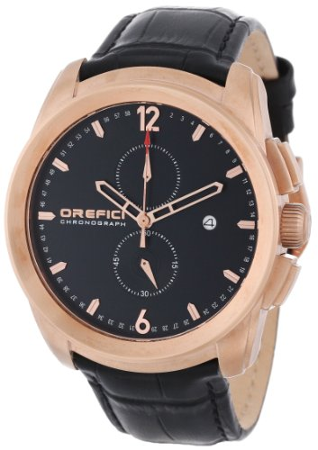 Orefici Unisex ORM8C4403 Classico Chronograph Slim Classy Sleek Watch