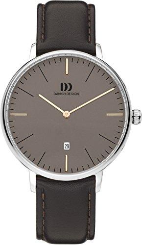 Danish Design Men's Analogue Quartz Watch with Leather Strap DZ120601