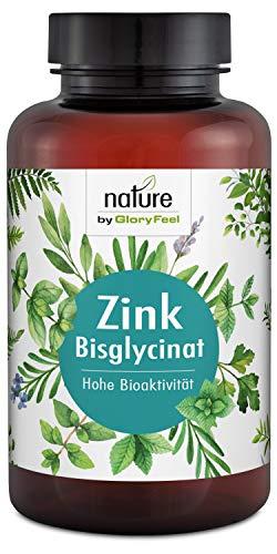 Zink Tabletten 25mg - 400 Tabletten Zink-Bisglycinat (Zink-Chelat) - Höchste Bioverfügbarkeit 25mg Elementares Zink aus reinem Zink-Bisglycinat - Laborgeprüfte Herstellung in Deutschland