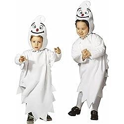 Widmann S.R.L. Déguisement fantôme Enfant Halloween 3 à 4 Ans