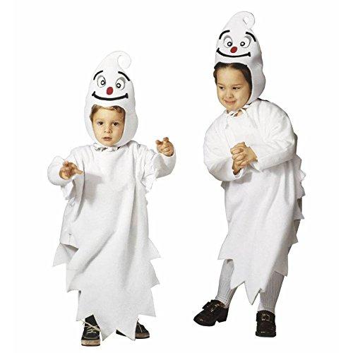 WIDMANN Kinder Kostüm Kleiner Geist Kinder Halloween Kostüm 2-3 Jahre