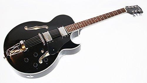 Cherrystone 0754235504924 Jazz E-Gitarre GSH schwarz