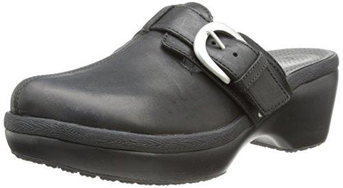 Crocs Cobbler Buckle, Zoccoli e Sabot Donna Nero (Black/Black)