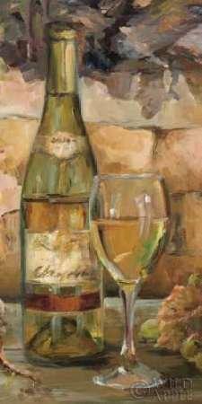 Küche Weinreben Dekor (Le Cour de le Chateau II Von Hageman, Marilyn Kunstdruck auf Leinwand - Klein (30 x 61 cms ))