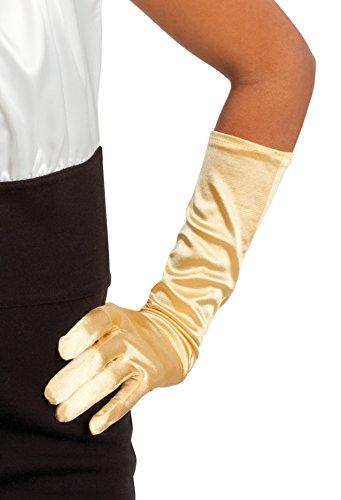 Boland 03003 - Handschuhe Monte Carlo, Einheitsgröße, gold
