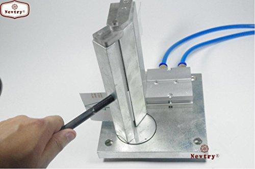 Pneumatische Winkel Biegen Maschine Bender Metall Buchstabe Metall Rand Pedal Falzmaschine Hem height: 15CM
