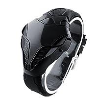 FUGL LED Digital Fashion Mens Watches Cobra Iron Triangle Dial Sport Wrist Watch New