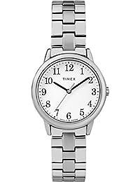 6711ebeda1c8 Timex Reloj Analógico-Digital para Mujer de Cuarzo con Correa en Acero  Inoxidable TW2R58700
