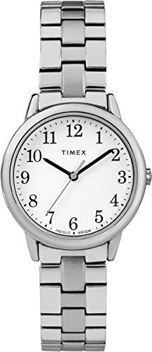 Timex Orologio Analogico-Digitale Quarzo Donna con Cinturino in Acciaio Inox TW2R58700