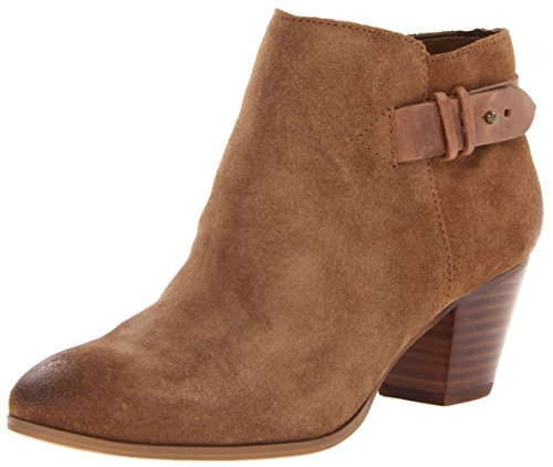 Guess Veora Spitz Wildleder Mode-Stiefeletten Medium Brown