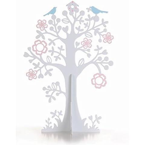 Primavera orecchini albero fiore Dettaglio portagioie