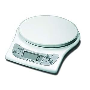 Salter Aquatronic Balance de cuisine Blanc 5 kg