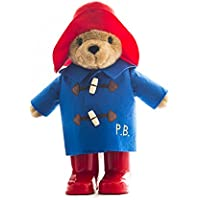 Paddington Bear - Oso de peluche con traje de lluvia (22 cm)