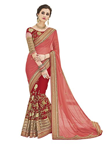 Sareeshop Georgette Saree With Blouse Piece (S2501_Multi_Free Size)