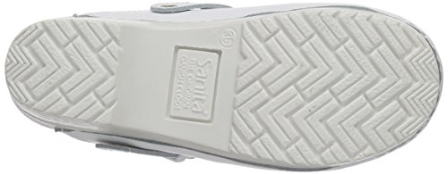 Sanita San-Flex Open-Ob, Sabots Mixte Adulte Blanc - Weiß (White 1)