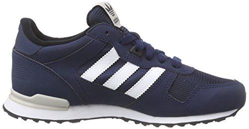 adidas Zx 700, Sneakers Basses mixte enfant Bleu (collegiate Navy/ftwr White/core Black)