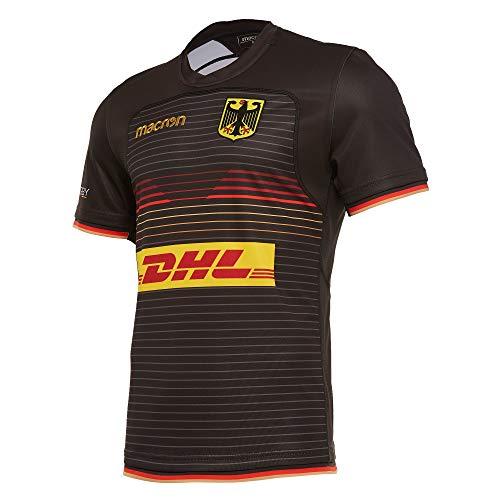 Macron DRV Nationalmannschaft ® Original Fan-Artikel Replica Trikot Home · (Offizielles Deutscher Rugby-Verband Lizenzprodukt) · Saison 2019/2020, Größe L