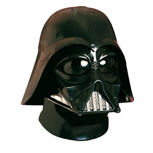PARTY DISCOUNT Star Wars - Darth Vader Maske und Helm / Imperator Kostüm Set Zubehör