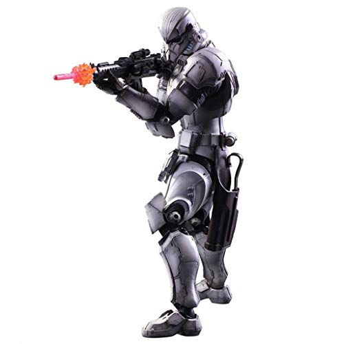 ariant Play Arts Kai Stormtrooper PVC-Lackierte Action-Figur - Stormtrooper Assault Action-Figur - Ausgestattet mit Waffen und Spezialeffektzubehör - Hohe 27CM ()
