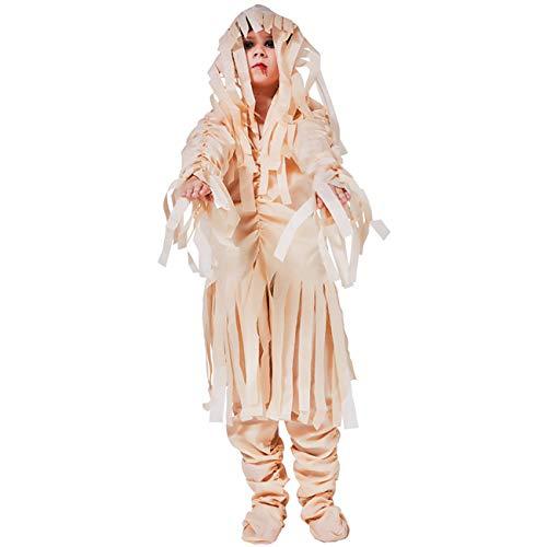 (ShiyiUP Kinder Mumien Kostüm Halloween Karneval Fasching Cosplay Dekoration)