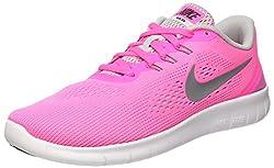 Nike Mädchen Free RN Laufschuhe, Pink (pink Blast pink Blast), 36 EU