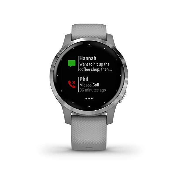Garmin Vívoactive 4S – Reloj inteligente con GPS y funciones de