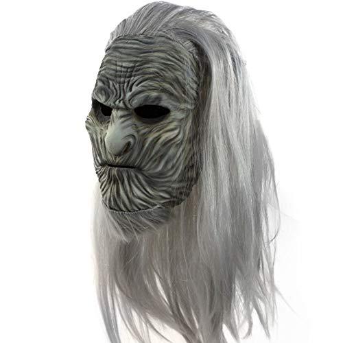 loween Maske Halloween Kostüm für Erwachsene Latex Unisex Einheitsgröße Game of Thrones Fasching ()