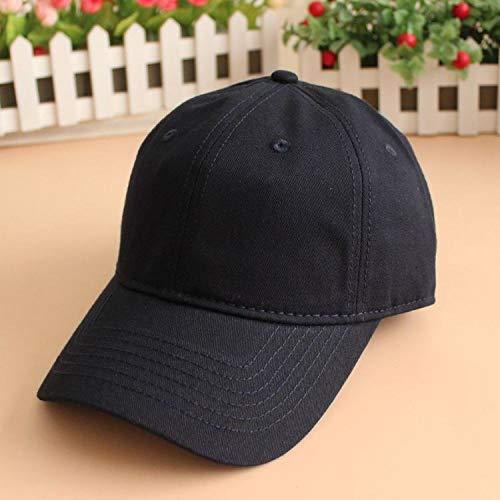 Kostüm Kleinkind Bauer - mlpnko Einfarbiger, Fetter Hut zum Vertiefen der Baseballkappe mit großer Ziffernkappe, dunkelblau, 55-59 cm