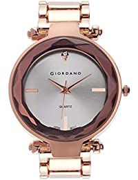 Giordano Analog Silver Dial Women's Watch-C2193-44