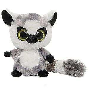 YooHoo & Friends - Peluche Lemur, 13 cm, Color Gris y Blanco (Aurora World 12017)