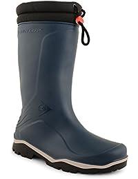 Mens Womens Blizzard Dunlop Padded Collar Waterproof Wellies Wellington Boots