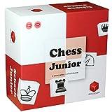 Chess Junior- Jeu d'échecs pour Enfants, 7990EN, Rouge