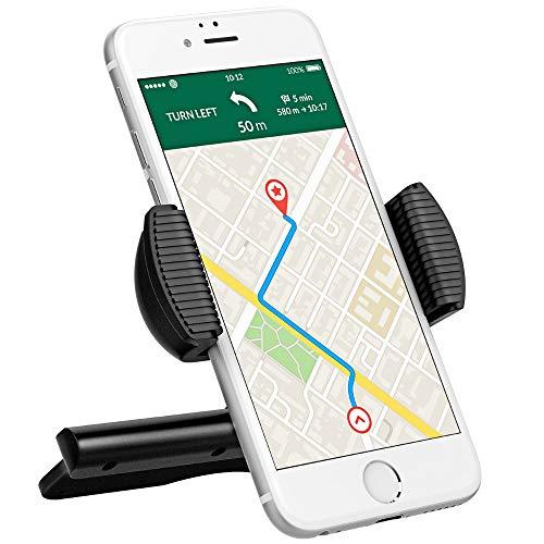 Makvio Kfz-Halterung für iPhone XS XR 8 7 6 Xiaomi Samsung GPS MP3 Player 360 drehbar