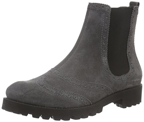 H枚gl Damen 2-10 2842 Chelsea Boots Grau (6600)