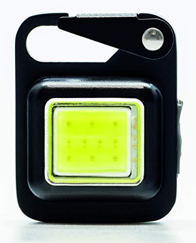 True Utility TU919 Knopflicht, wiederaufladbar, Einheitsgröße, Schwarz -