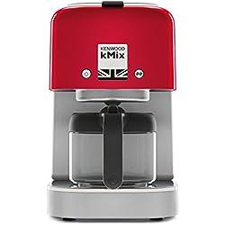 Kenwood Cafetière kMix cox750rd, rouge, 1000W, nouvelle série, Cafetière Filtre, pour 6Tasses (750ml)