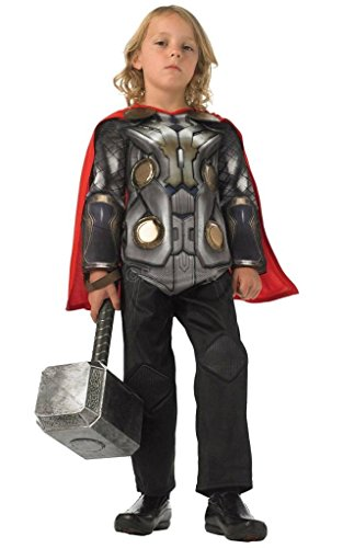 Rubies 3886591 - Thor 2 deluxe Muscle Chest Child Kostüm,  Größe:  M