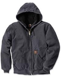 Carhartt Sandstone actifs Vestes à capuche Sherpa EJ004, couleur:gris;pointure:XXL