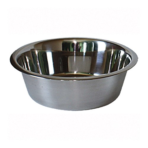 ICA CAS1120 Comedero Bowl de Acero Inoxidable Standard, Gris