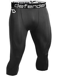 Defender Pantalones Cortos de Capa Base de Compresión para Hombres