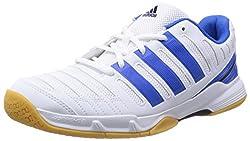 La parte superior de malla de aire Adidas Essence 11 Court Shoe está rodeada por una serie de superposiciones sintéticas que refuerzan su integridad estructural para ofrecer un zapato que es al mismo tiempo transpirable, flexible y robusto. La resist...