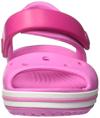 Crocs Crocband, Sandales Mixte enfant Rose (Candy Pink/Party Pink)